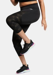 Nike Plus Size Air Cropped Running Leggings