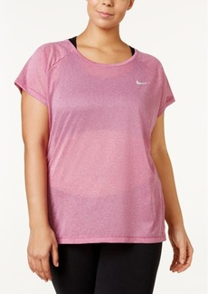 Nike Plus Size Breathe Mesh Racerback T-Shirt