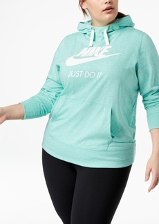 Nike Plus Size Gym Vintage Hoodie