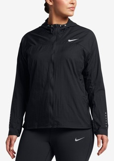 Nike Plus Size Impossibly Light Running Jacket