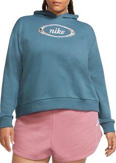 Nike Plus Size Logo Print Hoodie