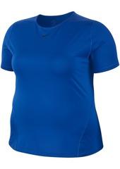 Nike Plus Size Pro Mesh Training Top