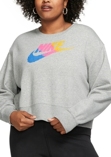 Nike Plus Size Sportswear Fleece Crewneck Sweatshirt