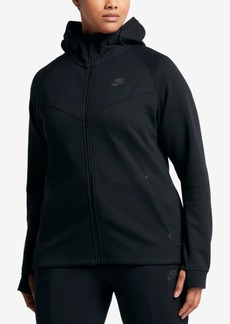 Nike Plus Size Sportswear Tech Fleece Hoodie