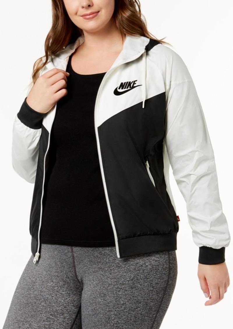 pretty nice 16276 06701 Nike Plus Size Sportswear Windrunner Jacket