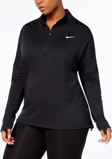 Nike Plus Size Therma Sphere Half-Zip Running Top