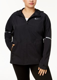 Nike Plus Size Zonal AeroShield Hooded Running Jacket