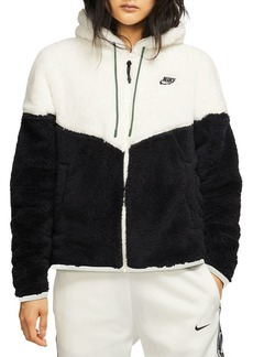Nike Plush Fleece Windrunner Jacket