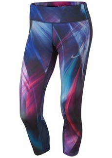 Nike Power Compression Printed Cropped Leggings