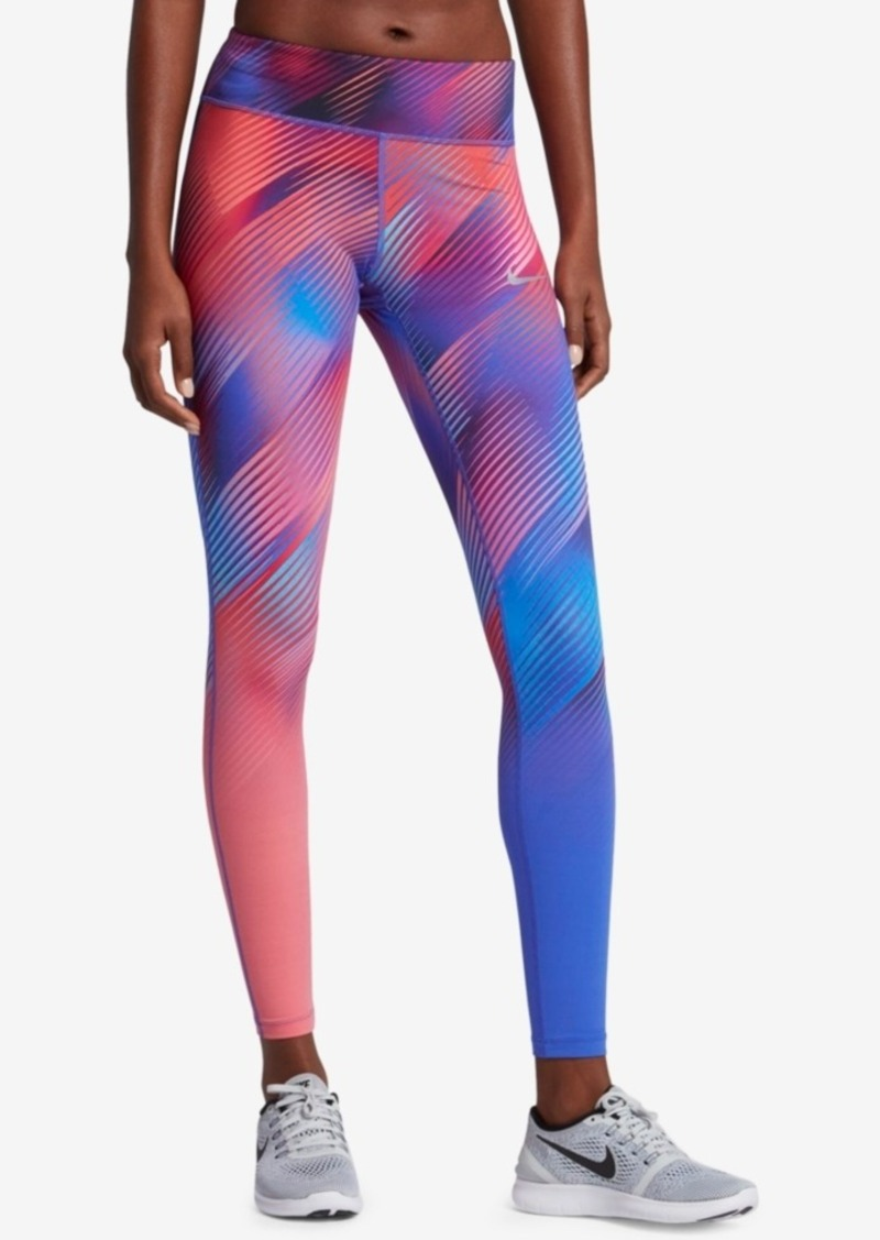 4aac36de05286e Nike Nike Power Epic Lux Printed Running Leggings | Casual Pants