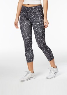 Nike Power Essential Printed Cropped Running Leggings