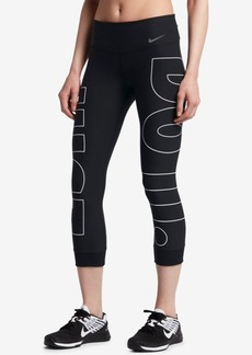 Nike Power Legend Cropped Graphic Leggings
