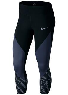 Nike Power Printed Capri Leggings
