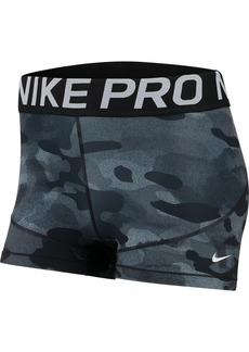 Nike Women's Pro Camo-Print Training Shorts