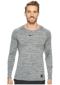 Nike Pro Heathered Long Sleeve Training Top
