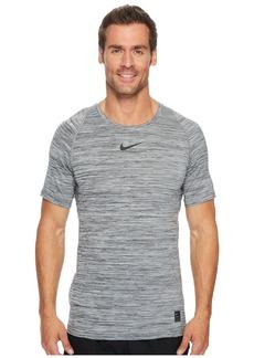 Nike Pro Heathered Short Sleeve Training Top