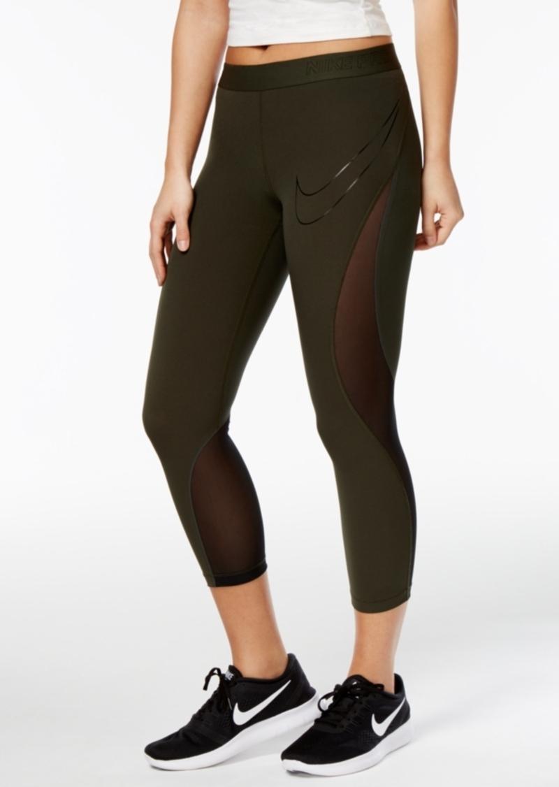 481c053cd55913 Nike Nike Pro Hypercool Mesh Training Capri Leggings   Casual Pants