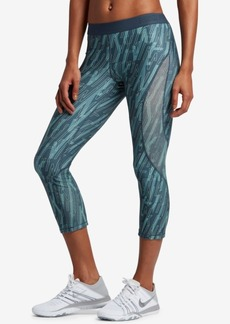 Nike Pro Hypercool Printed Capri Leggings