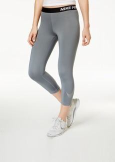 Nike Pro Metallic Logo Dri-fit Capri Leggings