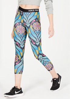 Nike Women's Pro Printed Cropped Leggings