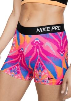 Nike Women's Pro Printed Training Shorts