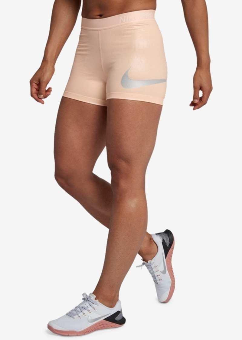 really comfortable brand new highly coveted range of Pro Rise Pack Metallic Shorts