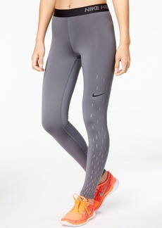 Nike Pro Warm Base-Layer Fleece-Lined Leggings