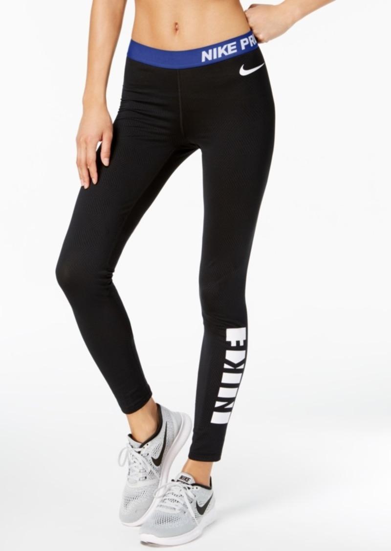4c4b0cf6d5a11 SALE! Nike Nike Pro Warm Fleece-Lined Leggings