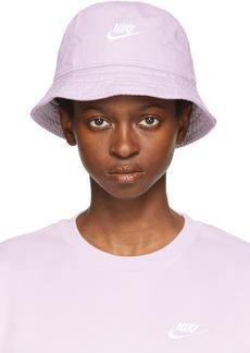 Nike Purple Sportswear Bucket Hat
