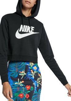 Nike Rally Cropped Hooded Sweatshirt