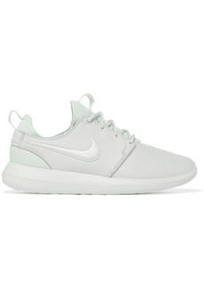 Nike Roshe Two textured-leather and mesh sneakers
