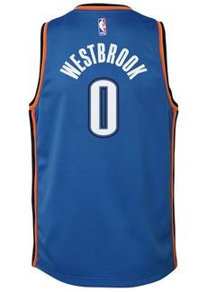 Nike Russell Westbrook Oklahoma City Thunder Icon Swingman Jersey, Big Boys (8-20)