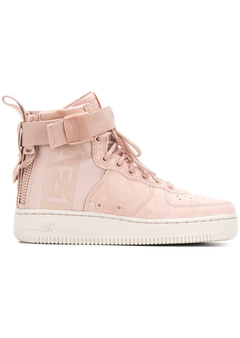 reputable site 021e1 9721c shopping nike air force 1 mid lyserød 6cee1 500c6
