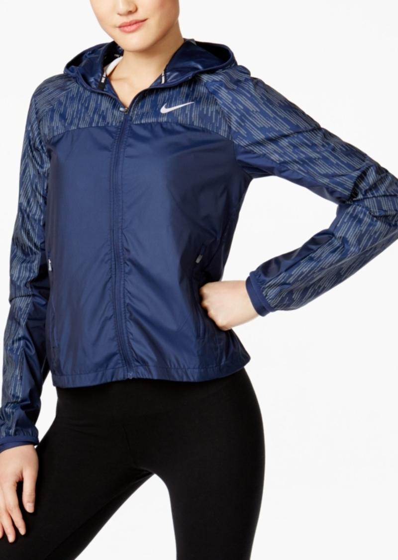 Nike jacket flash - Nike Shield Flash Running Jacket