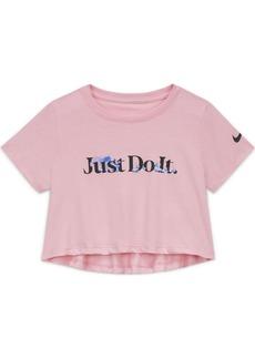 Nike Sportswear Big Girl's Cropped T-Shirt