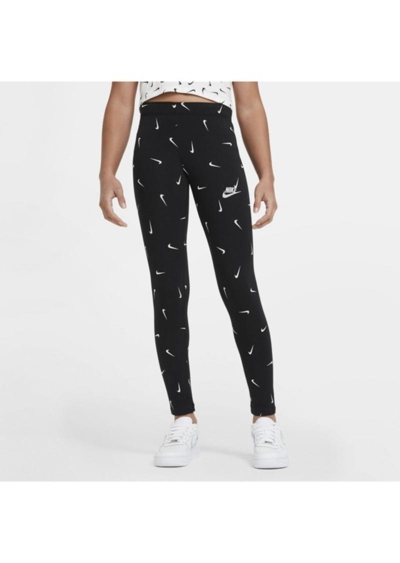 Nike Sportswear Big Girl's Printed Leggings