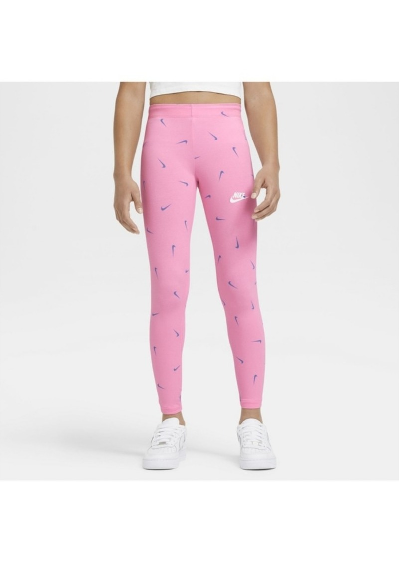 Nike Sportswear Big Girl's Printed Leggings