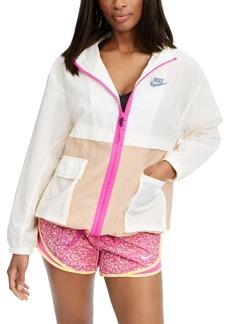 Nike Women's Sportswear Colorblocked Hooded Jacket