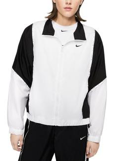 Nike Women's Sportswear Colorblocked Woven Jacket