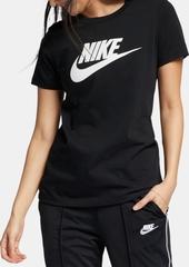 Nike Women's Sportswear Cotton Logo T-Shirt