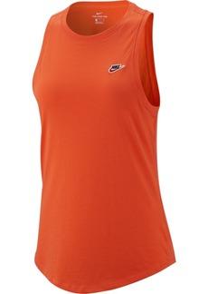 Nike Sportswear Cotton Racerback Tank Top