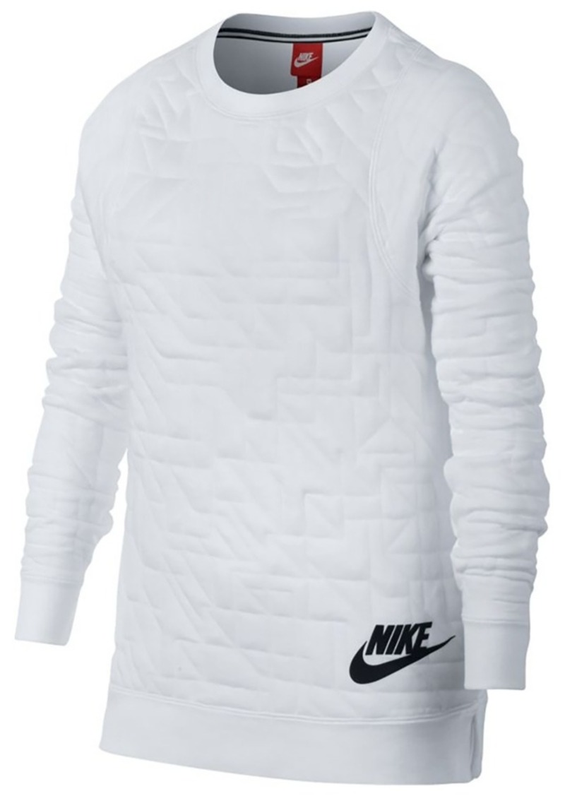 77b348c0bfe1 Nike Nike Sportswear Crew Quilted T-Shirt
