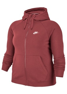 Nike Sportswear Essential Plus Size Full-Zip Hoodie