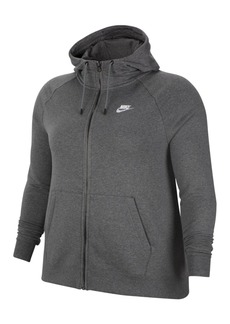 Nike Sportswear Essential Plus Size Full-Zip Hoodie