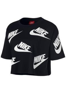 Nike Sportswear Futura Cotton Cropped Top