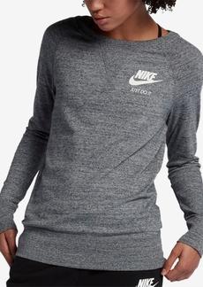 Nike Women's Sportswear Gym Vintage Crew Sweatshirt