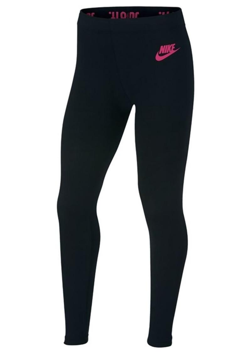 f04c90a0b573f Nike Nike Sportswear Leg-a-See Leggings, Big Girls | Casual Pants
