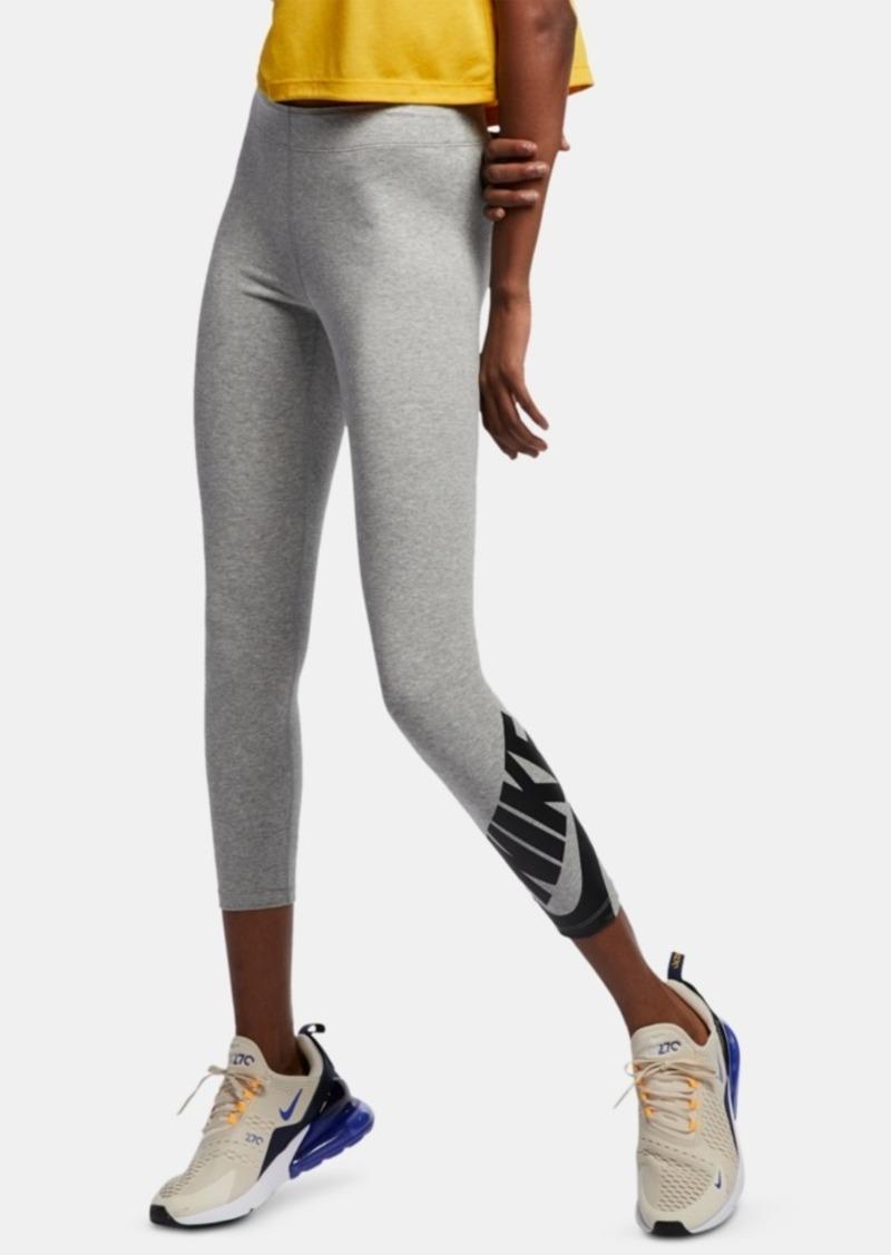 Nike Women's Sportswear Legasee Logo Ankle Leggings