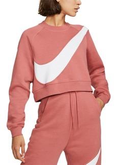 Nike Women's Sportswear Logo Fleece Sweatshirt