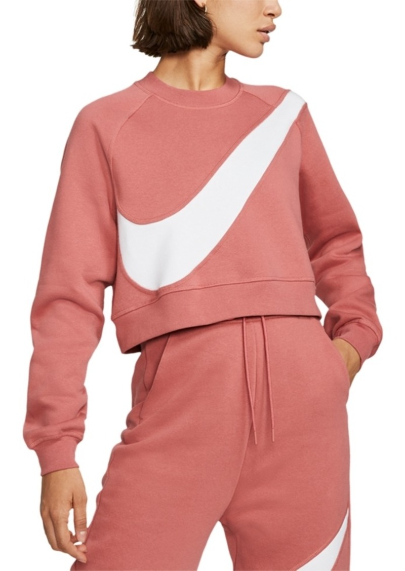 Nike Women's Sportswear Logo Fleece Sweatshirt